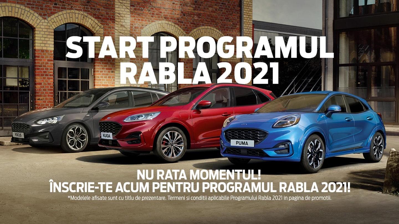 Cele mai bune oferte FordStore BDT prin Programul RABLA